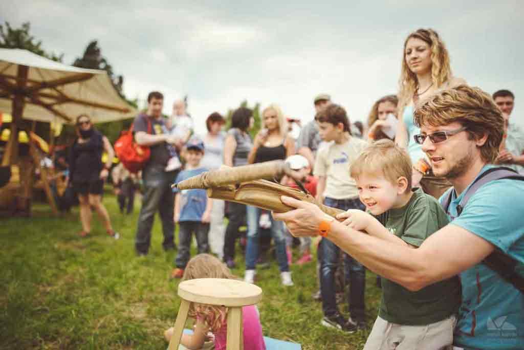 Festival sa páči dospelým aj deťom.