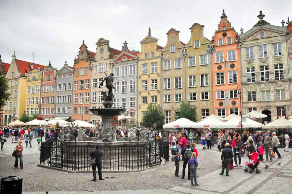 Gdaňsk má čarovné centrum s výnimočnou atmosférou.