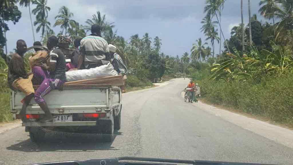 Aj takto sa prepravujú Zanzibarčania.