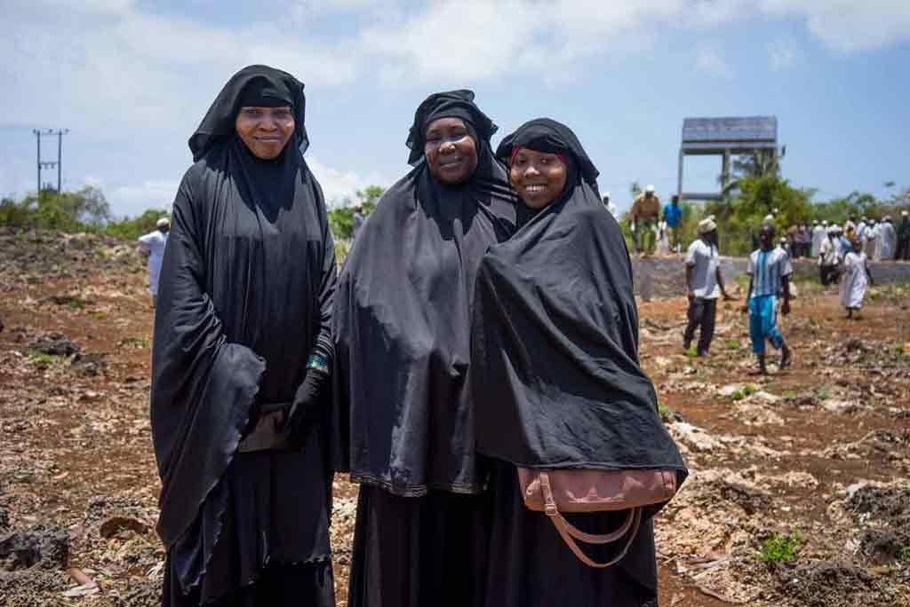 Ženy, ktoré mi robili spoločnosť počas stretnutia.