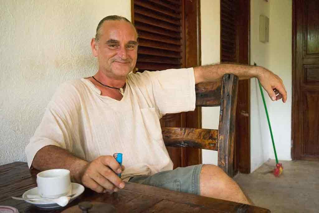 Hannes, Rakúšan, ktorý dnes za svoj domov považuje Afriku.