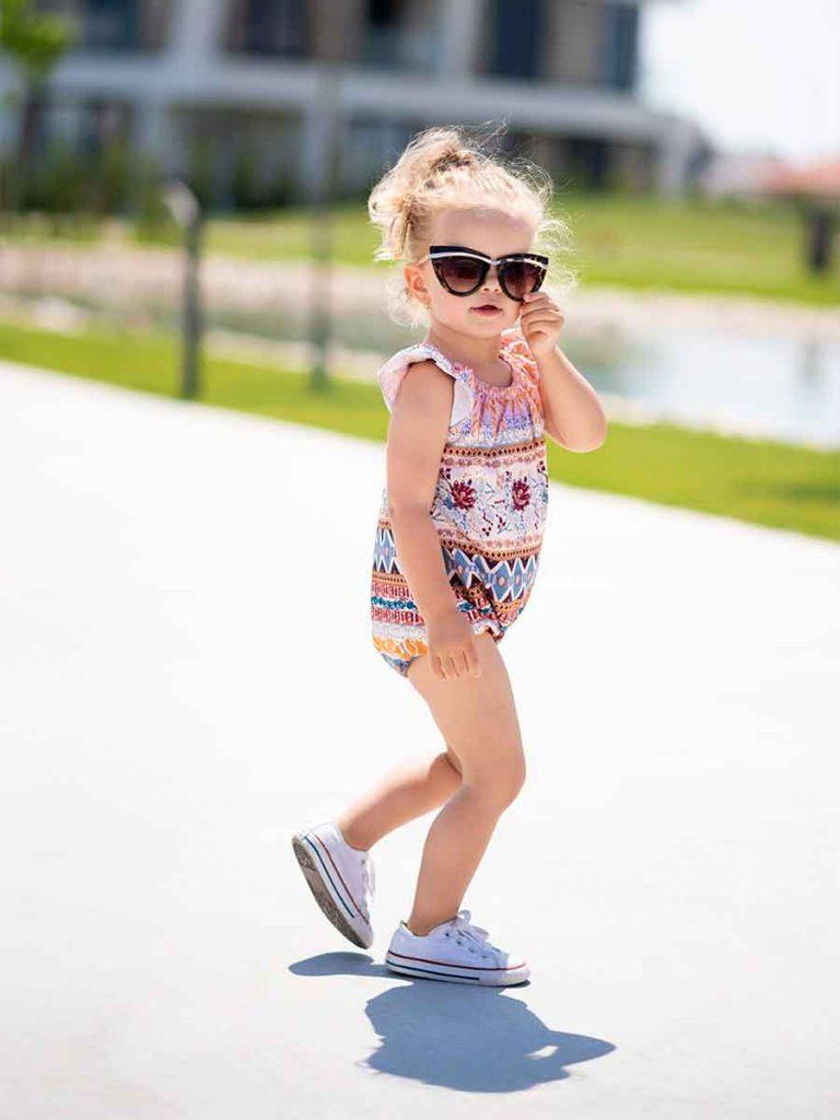 Andrea by rada nafotila editoriál pre značku detského oblečenia.