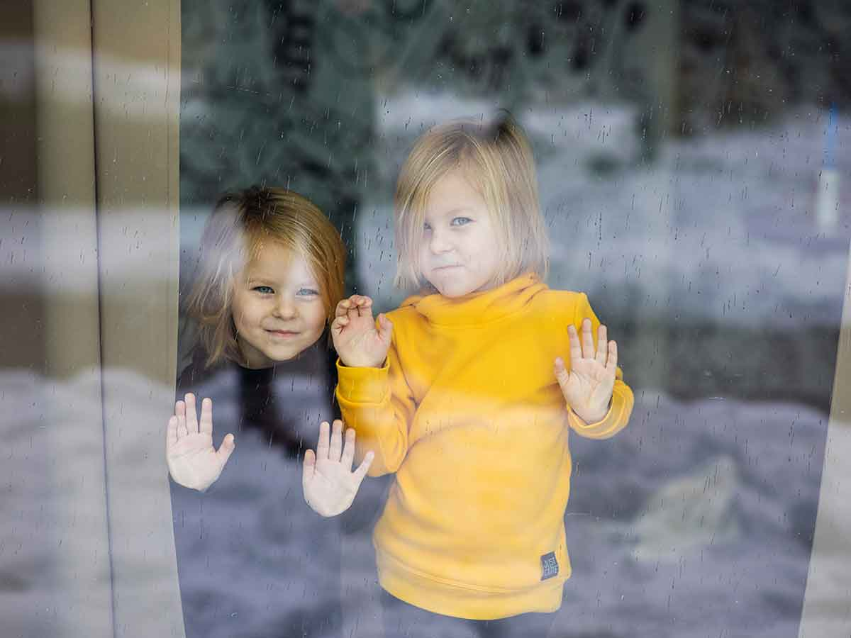 Dvojičky Ninka a Eliška. Andrea fotografuje pre blog, ktorý vedie ich mama.